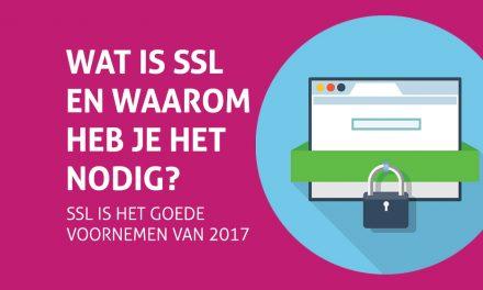 SSL is het goede voornemen van 2017