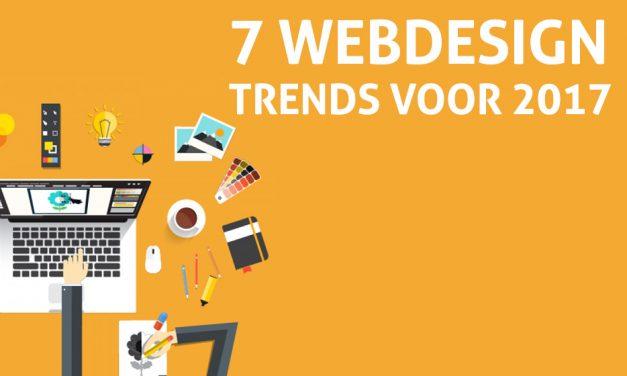 7 Webdesign trends voor 2017