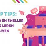 Beter en sneller blogs leren schrijven
