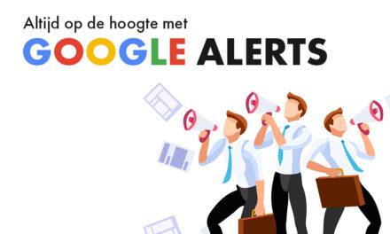 Google Alerts instellen