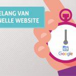 Het belang van een snelle website