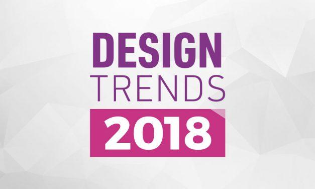 Webdesign trends 2018