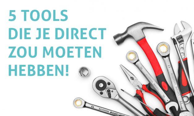 5 tools om efficiënt te werken